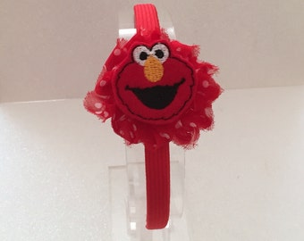Elmo Inspired Headband