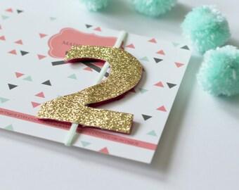 2 Headband- Two Headband- 2nd Birthday Headband