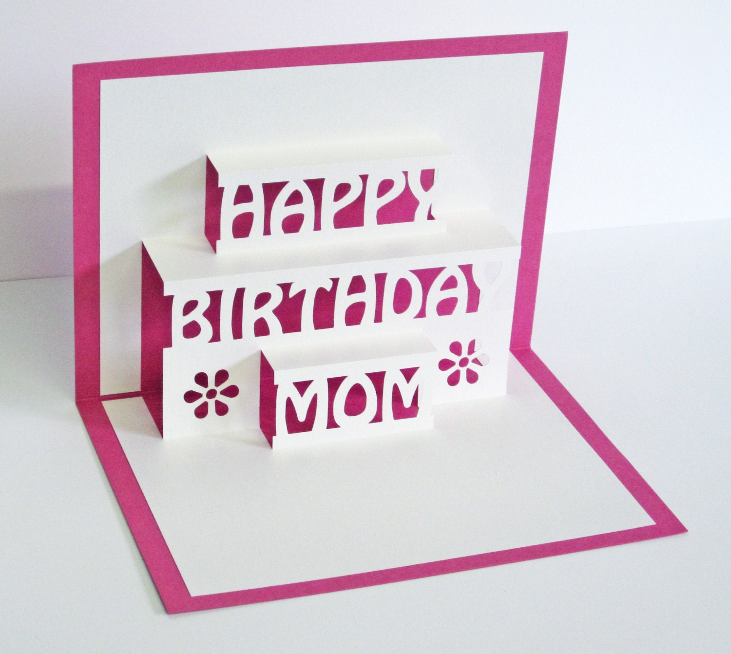 pop up birthday cards for mom mom birthday card 3d pop up happy birthday mom card
