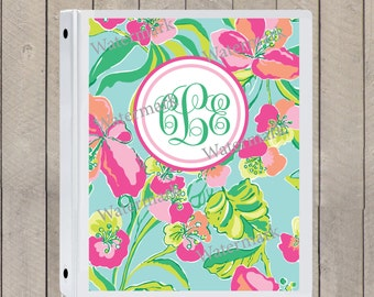Lilly Pulitzer Binder Covers - DIGITAL