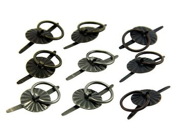 Ring Fasteners by Tim Holtz (Pkg of 9)  (EB2034)