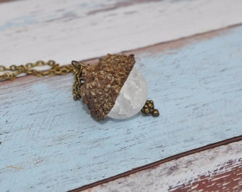 Acorn Jewelry - Necklace - Bronze