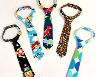 Little Man Necktie - Baby ties - Toddler ties - Kid ties - Special occasion - Wedding - Church - Pictures