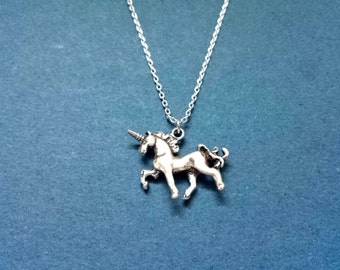 Unicorn, Silver, Necklace, Lovely, Fairytale, Unicorn, Necklace, Birthday, Best friends, Sister, Gift, Jewelry