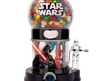 Star Wars Jelly Belly Dispenser  (NEW)  SPECIAL TRIBUTE