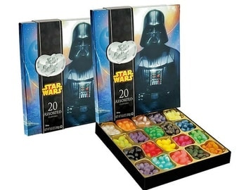 Star Wars Jelly Belly Jelly Beans 20 Assorted Flavors 8.5 oz.