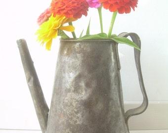Old tin, Kettle, teapot