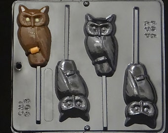 Owl Chocolate Candy Mold Halloween / Harry Potter 903