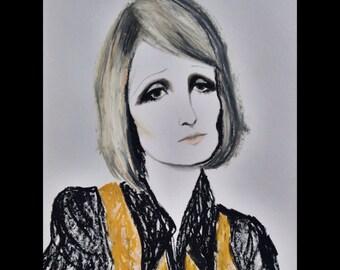Barbara Hulanicki. Original Artwork.
