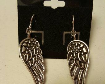 Weeping Angel Wing earrings