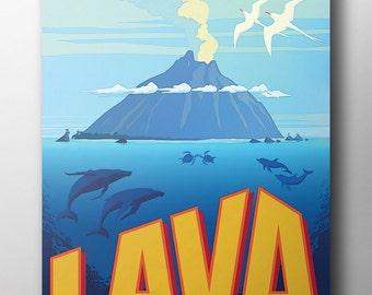 LAVA Poster