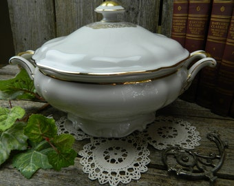 Antique Hutschenreuther Selb Bavaria Germany Soup Tureen