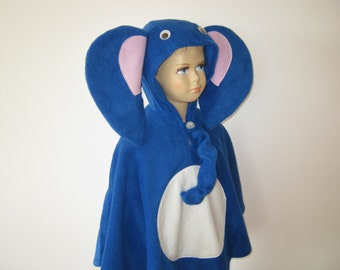 elephant halloween carnival costume cape for toddlers
