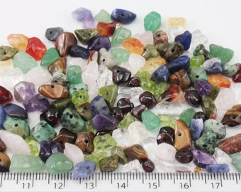 Mixed Gem Nuggets/chips ~5x10mm ~280 stones