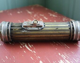 Antique Flash Light Eveready Fish Eye Lens Art Deco