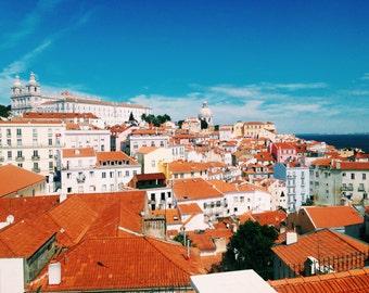 Lisbon Rooftops Print