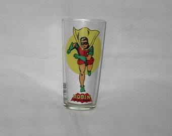 vintage 1976 national periodics pub.  robin pepsi glass