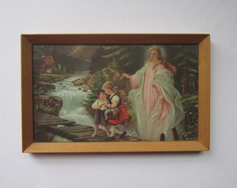 1950s Guardian Angel print