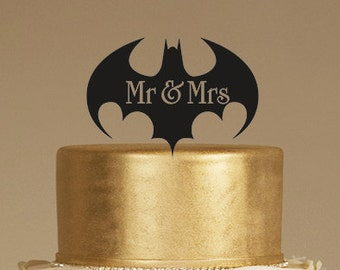 search q batman wedding cake topper