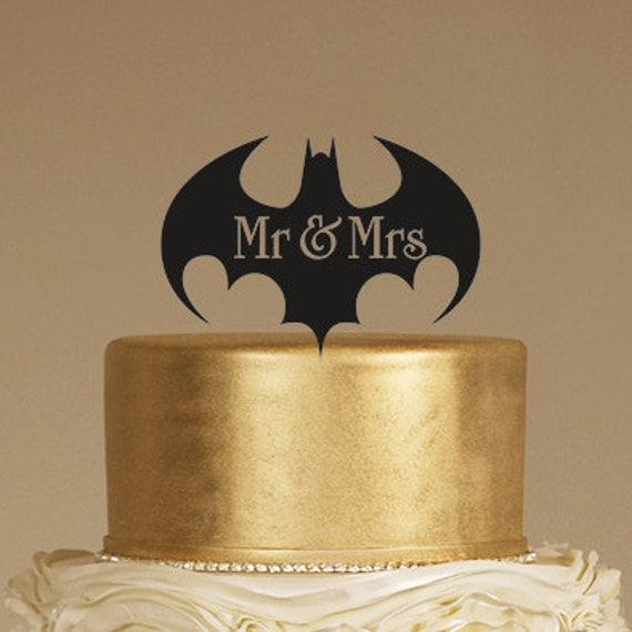black and gold wedding cake toppers batman wedding cake topper mr amp mrs cake topper rustic 11816