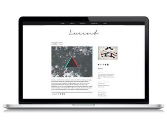 Lucent Responsive Wordpress Theme | Instant Digital Download