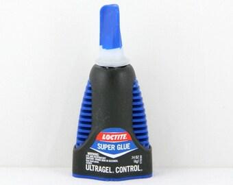 Glue, Super Glue by Loctite~with Ultra Control for Precise Application .14 oz. Professional Glue, Jewelry Glue, Leather Glue