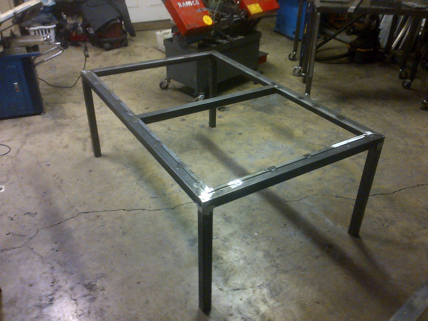 steel metal table frame any size color