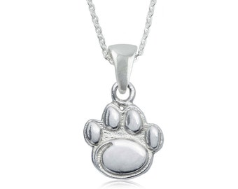 Penn State Sterling Silver Necklace,  Nittany Lions Silver Jewelry, PSU-6118