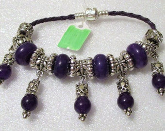 733 - NEW Purple Bracelet