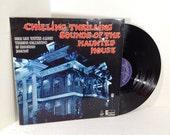 Disneys Chilling Thrilling Sounds Of The Haunted House UK Press vinyl record Disneyland Halloween