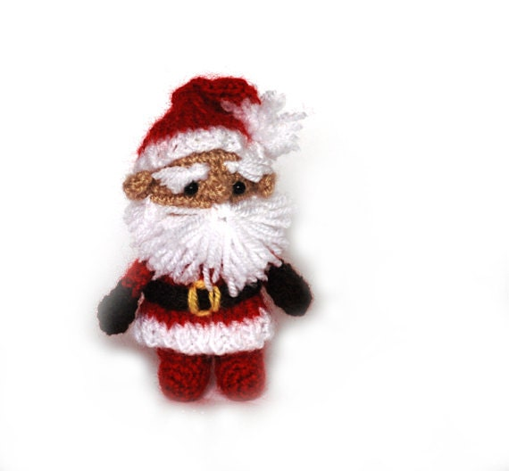 Amigurumi Father Christmas : Items similar to crochet Santa Claus, amigurumi Santa ...