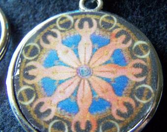 River Goddess Key Ring