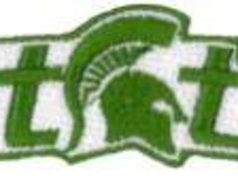 MICHIGAN STATE UNIVERSITY Patch......About 3.25 x 1.25 inch