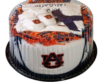 Auburn Tigers Baby Clothing Gift Set
