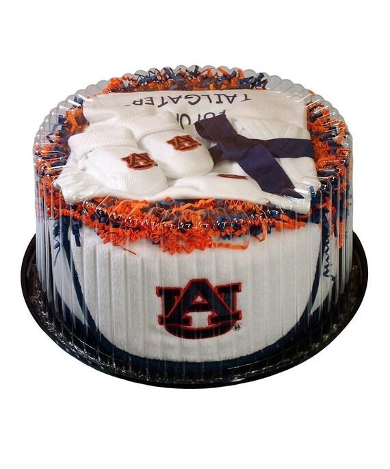 Auburn Tigers Baby Clothing Gift Set
