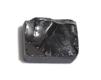 Thai Black Spinel Octagon Rough Cut Loose Gemstone 1A Quality 10x8mm TGW 3.10 cts.