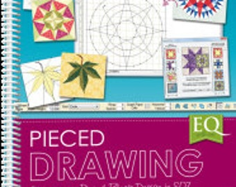 EQ with Me: Pieced Drawing, by Patti Anderson The Electric Quilt Co. - BOOK  sku9136