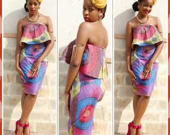 Top peplum dress