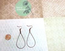 Antique Copper Hoop Earrings, Most Popular Item, Best Selling Item, Top Selling Item, Best Selling Shop, Most Popular Shop, Best Seller