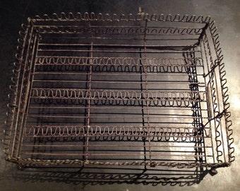 Iron thread plate