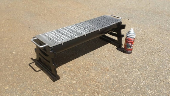 Japanese hibachi style grill with stainless