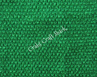 10 Inch Lined KELLY GREEN Crochet Tutu Top / Tube Top / Dress Top