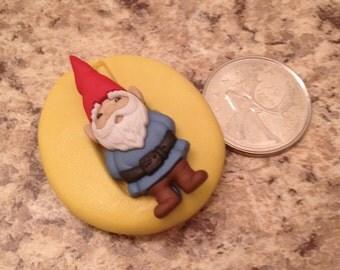 Garden Gnome Mold  Silicone