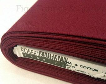KONA Cotton in Crimson (Color 1091)