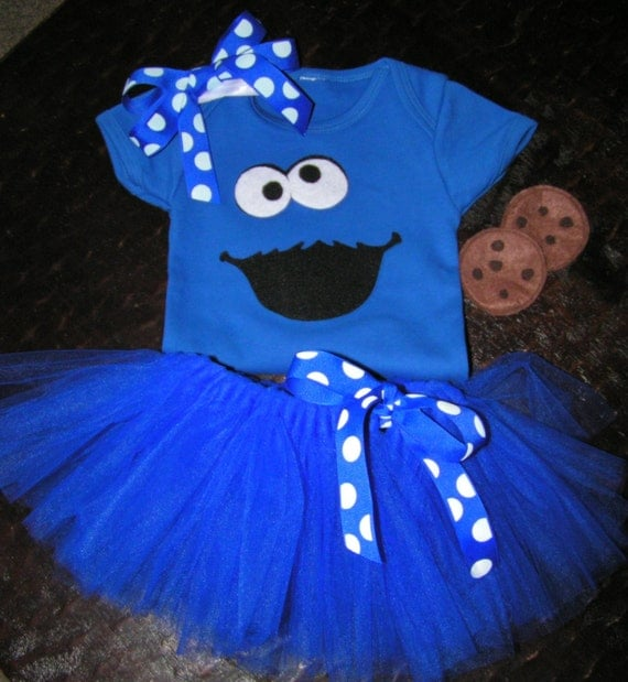 ... Baby Cookie Monster Costume ... & Baby Tutu Costumes for Halloween