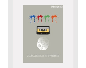 Eternal Sunshine Of The Spotless Mind movie poster postcard 4'X6'