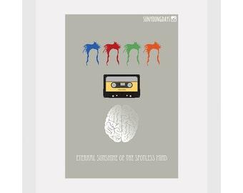 Eternal Sunshine Of The Spotless Mind movie poster postcard 4'X6'