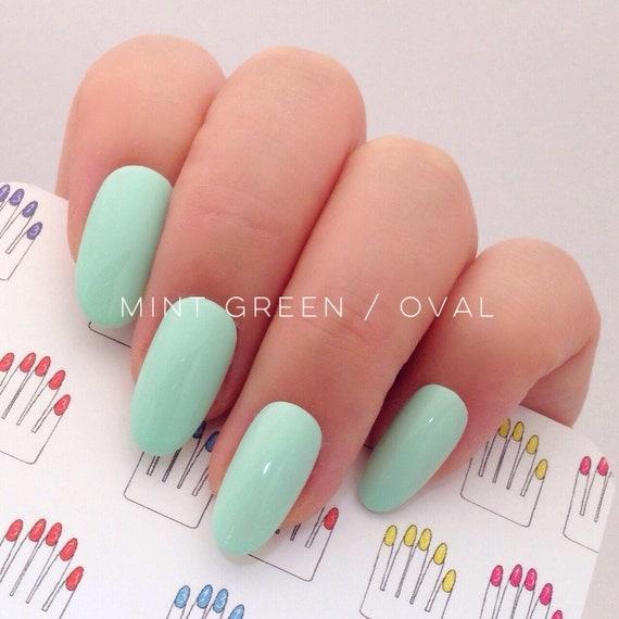 how to make fake nails stick