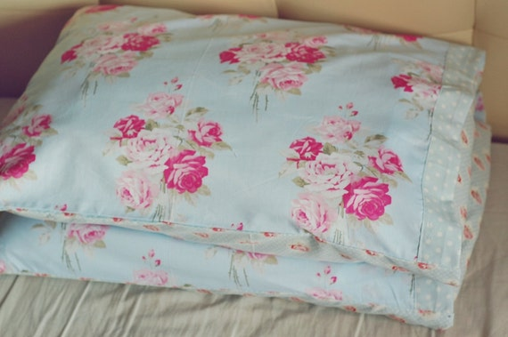 Shabby Chic Bed Pillows : SALE_2 Standard Size Shabby Chic Pillow Sham by stitchbyzura