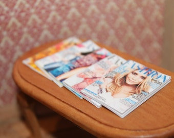 Fashion Magazines For Dollhouse